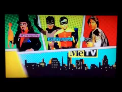 MeTV Super Sci-Fi Saturday Night New Hashtag Bumper with Burt Ward and Battlestar Galactica