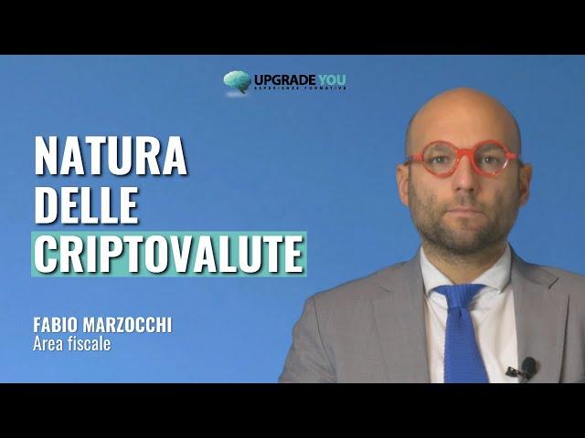 Natura delle criptovalute (video 1 di 4)