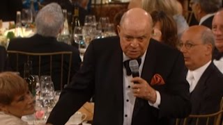 Don Rickles at the AFI Life Achievement Award Tribute to Shirley MacLaine