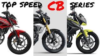 CB150R CB150R(exmotion) CB300F : Top Speed