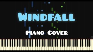TheFatRat — Windfall (Piano Cover)