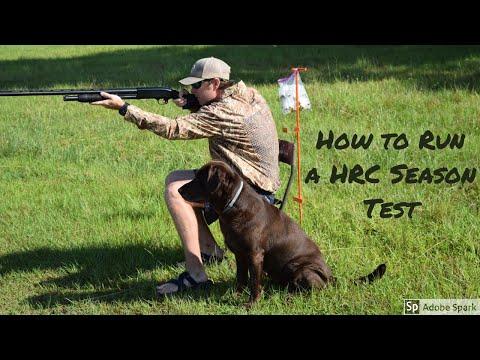 How To Run A HRC Seasoned Test