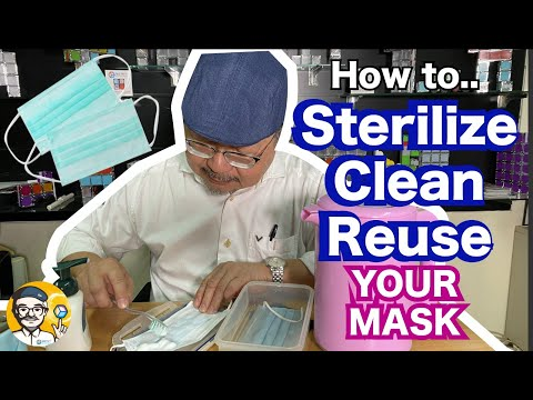 easy-way-to-sterilize,-clean-&-reuse-your-own-mask!-save-money-&-the-enviroment-too-!