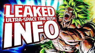 Dragon Ball Legends - LEAKED Ultra Space Time-Rush NEW Mode Datamine