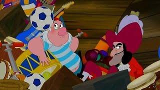 Джейк и пираты Нетландии - Слоновий сюрприз!/ Танцы Джейка в джунглях! - Серия 17, Сезон 1