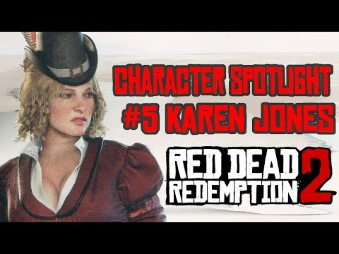 Red Dead Redemption 2 Character Spotlight #5 Karen Jones thumbnail