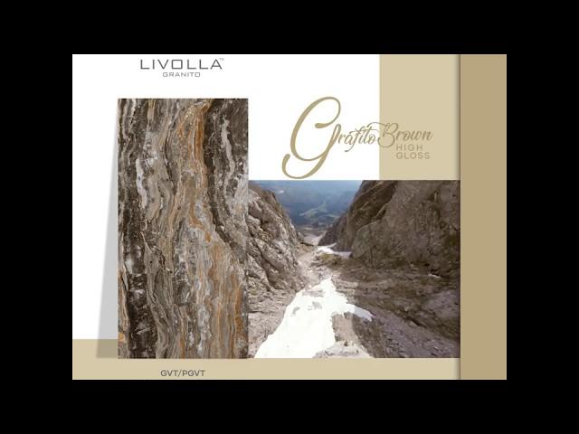 Grafito Brown | Livolla Granito | 600x1200 MM