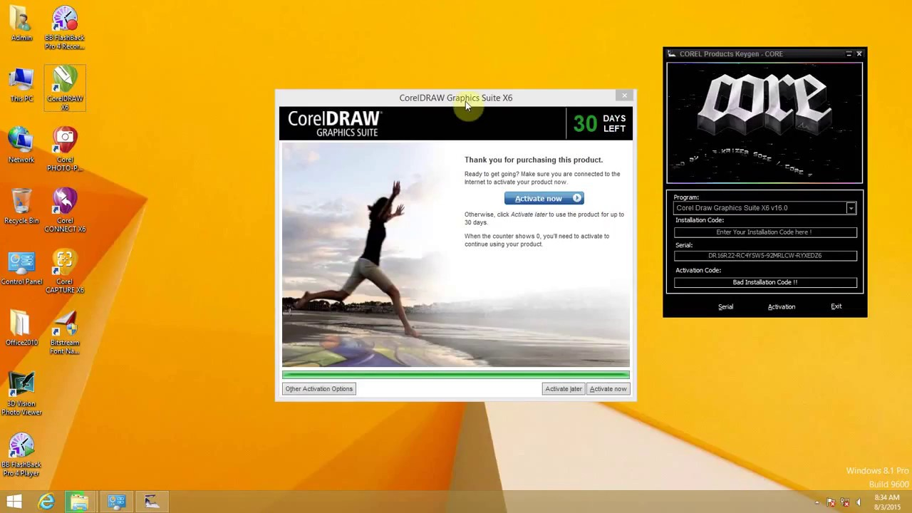 How To Activate Corel Draw Graphics Suite X6 Pc And Mac Dec 2018