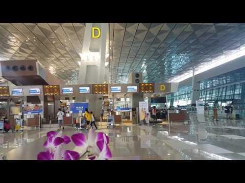 Terminal 3 Jakarta airport, February 2017