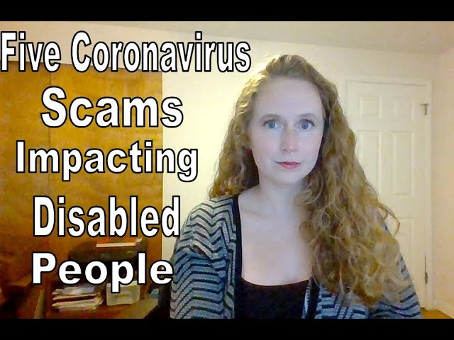 Five Coronavirus Scams Impacting Disabled People