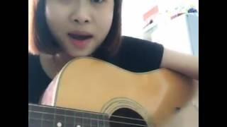 [Guitar] Ngày Em Đi Lấy Chồng-Cover- Hoàng Nhi  ( Lời ru câu hát ối a tôi khờ   )