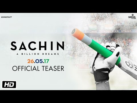 Sachin A Billion Dreams | Official Teaser | Sachin Tendulkar