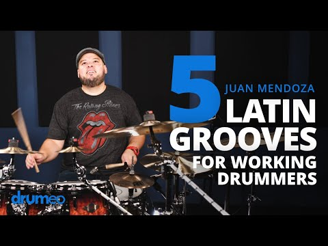 5 Latin Grooves Every Drummer Should Know (Juan Carlito Mendoza)
