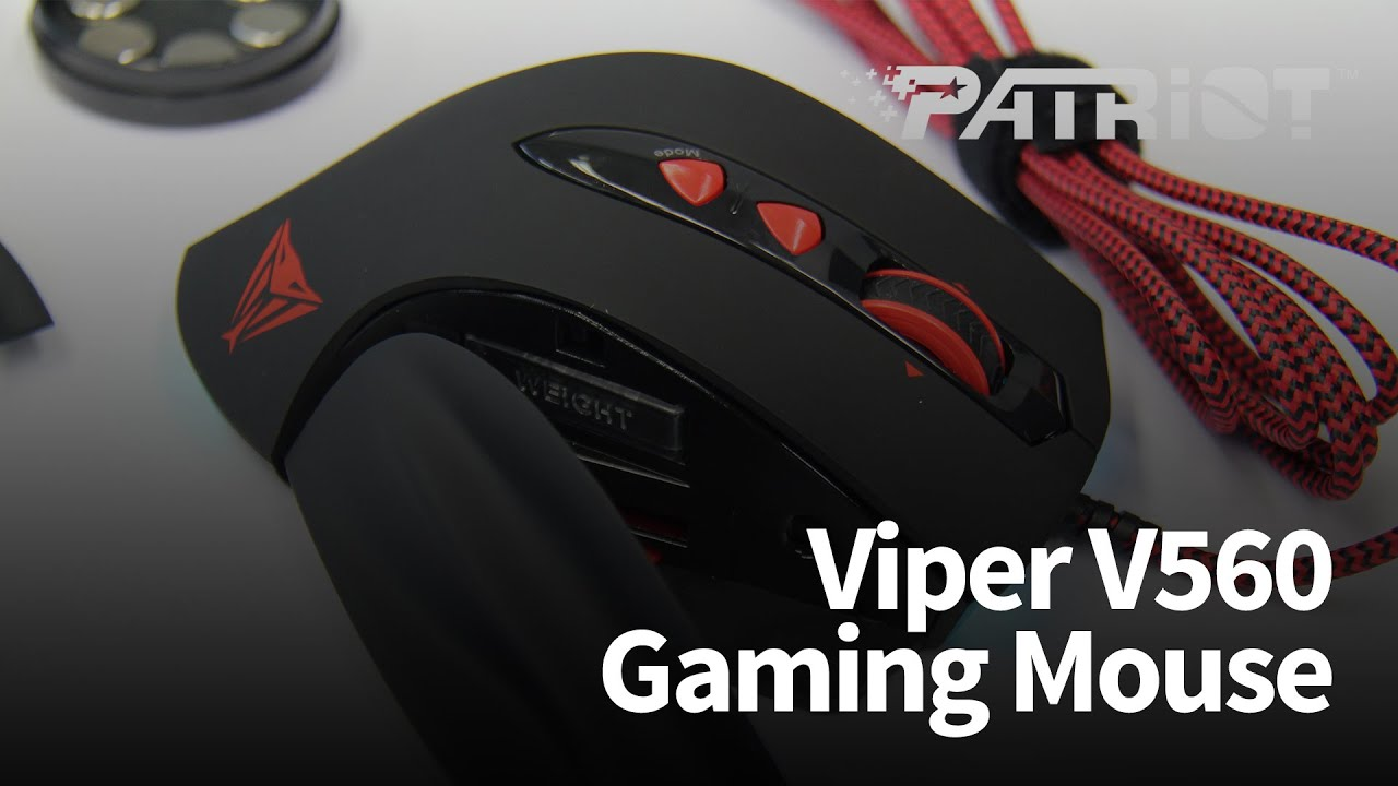 d31c5e5f3c8 Patriot Viper V560 Gaming Mouse - YouTube