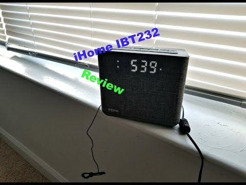 Set Time On IHome HBN21 | How To Save Money And Do It Yourself!