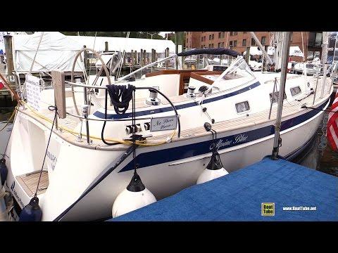 2017 Hallberg Rassy 372 Sailing Yacht - Deck and Interior Walkaround - 2016 Annapolis Sailboat Show