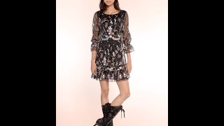 Anna Sui - Resort 2016 Collection Fashion Slide Show