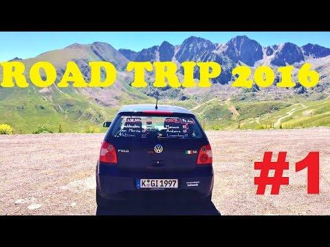 Euro Road Trip 2016 #1 (Cologne-Liechtenstein)