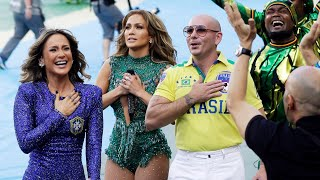 Jennifer Lopez + Pitbull & Claudia Leitte - We Are One [FIFA World Cup Opening Ceremony] FULL HD