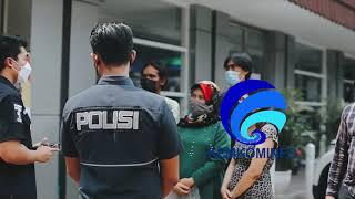 Edukasi terkait pelaporan Hotline PPKM LEVEL 4 Ditreskrimsus Polda Metro Jaya
