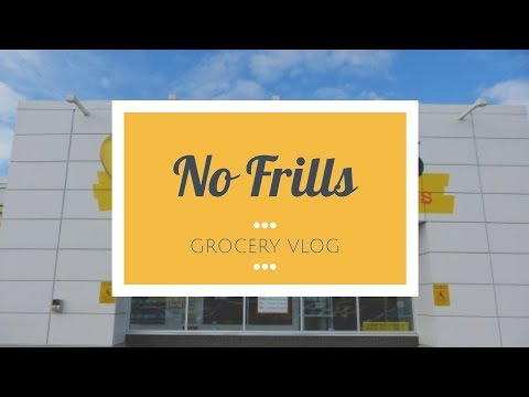 No Frills Grocery Store