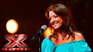 Laura Johnston takes on Aretha Franklin | Auditions Week 2 |  The X Factor UK 2015