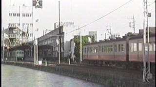上毛電気鉄道デハ238+クハ38(旧西武クモハ351形+クハ1411)