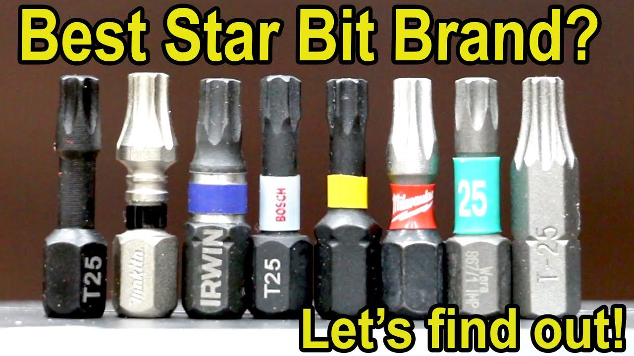 Best Star (Torx) Bit Brand? Lets find out!