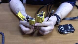 KVM switch из Китая