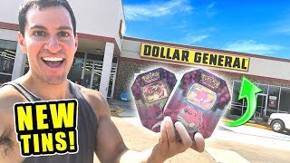 *DOLLAR GENERAL HAS NEW POKEMON CARDS TINS!* Opening HIDDEN FATES Booster Packs and Boxes!