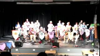 Wirral Ukulele Orchestra performing Urban Spaceman