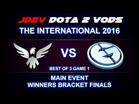 Wings vs EG TI6 The International 2016 Main event WB Finals Game 1 VOD DOTA 2