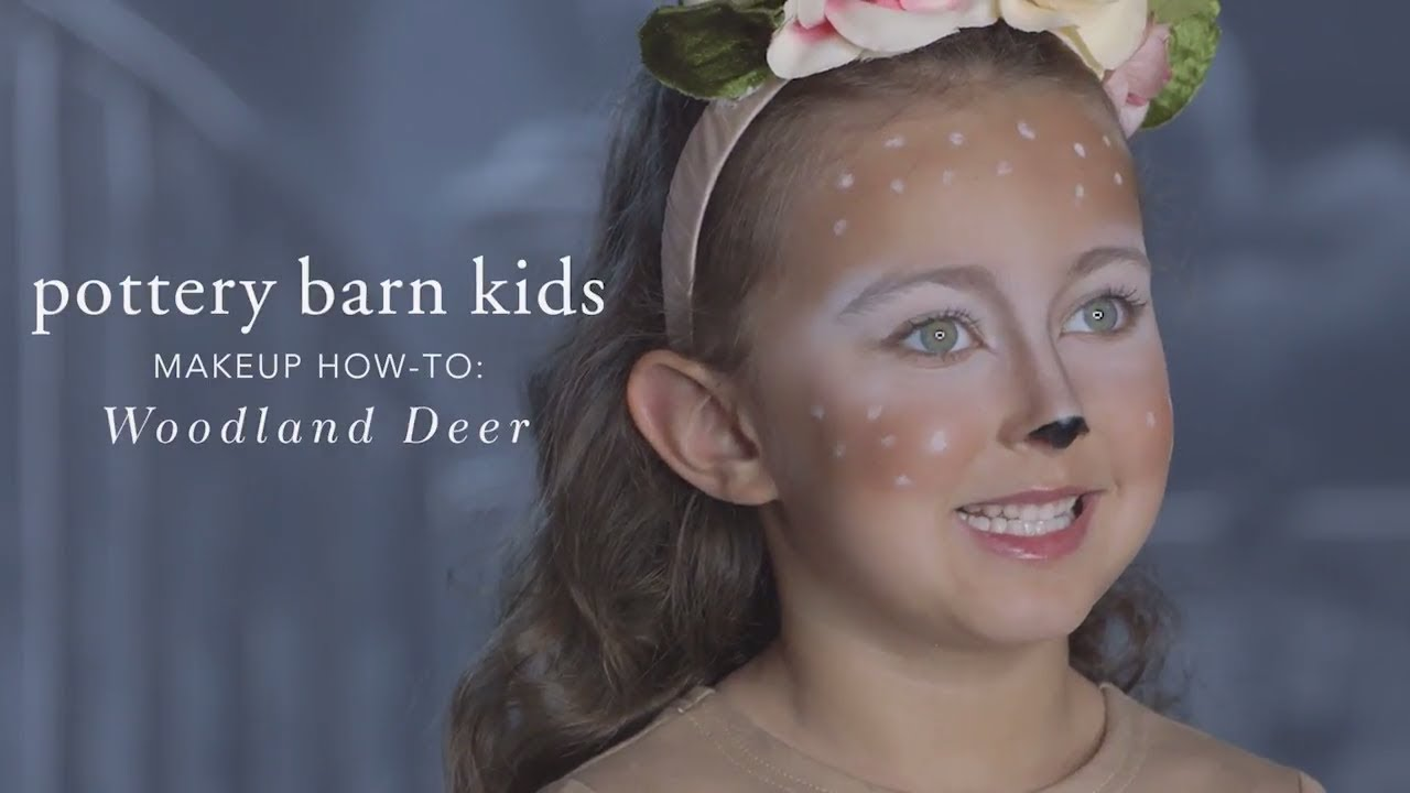 Easy Halloween Makeup Tutorial Deer Tutu Costume For