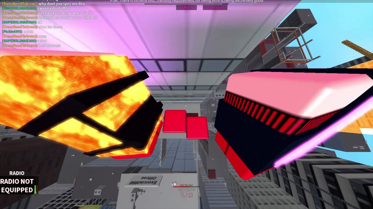 How To Hack Roblox Parkour Roblox Parkour Fast Wallboost Ez 100 By Blee