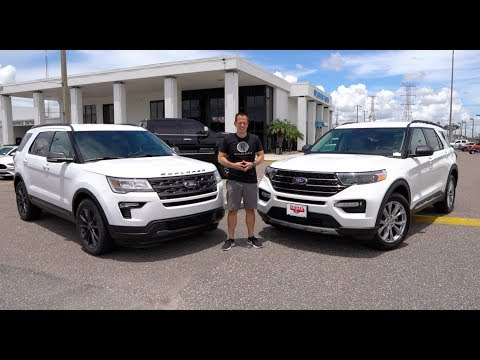 Is the 2020 Ford Explorer XLT a BETTER SUV compared to the 2019 model?