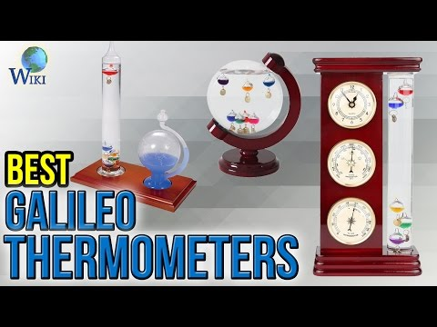 PEARL Goethe Thermometer Galileo-Thermometer Classic Glas Thermometer