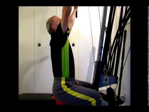 Lat Pulldowns on the Bowflex Blaze