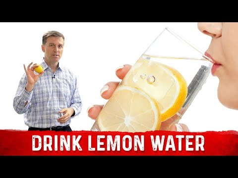 The #1 Biggest Reason to Drink Lemon Water