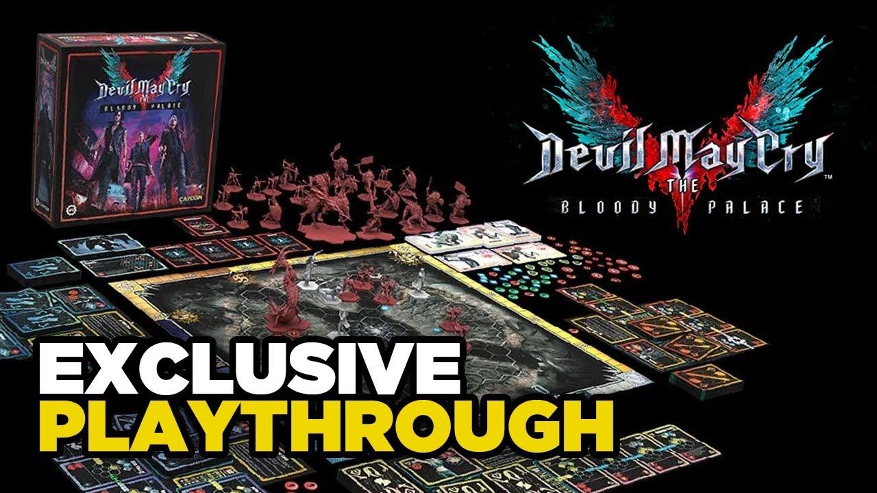 Devil May Cry ™: Das Durchspielen des Bloody Palace mit SFG + video