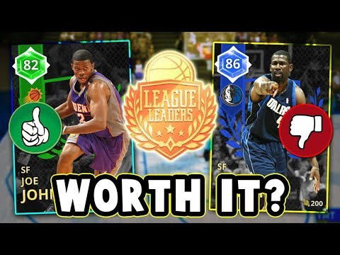 NBA 2K18 WHICH LEAGUE LEADERS CARDS ARE WORTH BUYING!! - NBA 2K18 MyTEAM