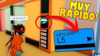 THE FASTEST WAY TO GET THE KEYCARD IN JAILBREAK!! Roblox