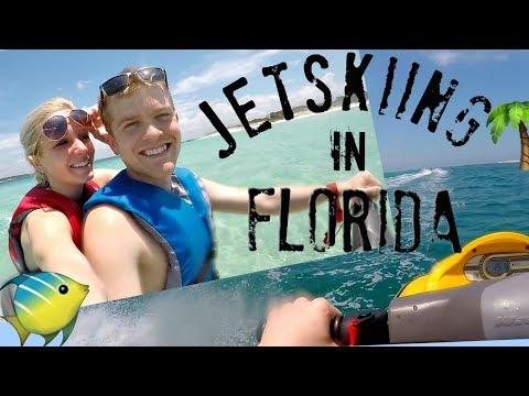 JETSKIING AND SHOPPING IN PANAMA CITY BEACH!!!