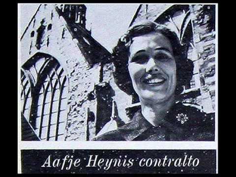 Bach / Aafje Heynis, 1958: Cantata No. 169,