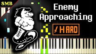 UNDERTALE - ENEMY APPROACHING - Piano Tutorial