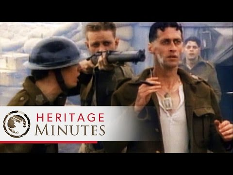 Heritage Minutes: Valour Road
