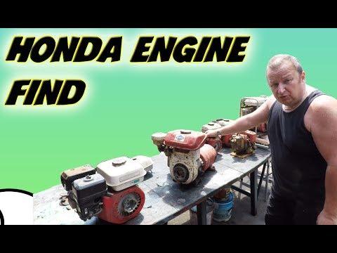 Honda Engine Haul And Will It Run Honda 1500 Generator Vlog