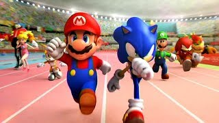 Mario & Sonic at the Olympic Games - Mission Mode Part 1 - Mario, Luigi, Sonic, Tails