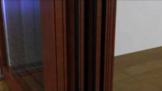 Centor F3 Bottom-Rolling System for folding doors