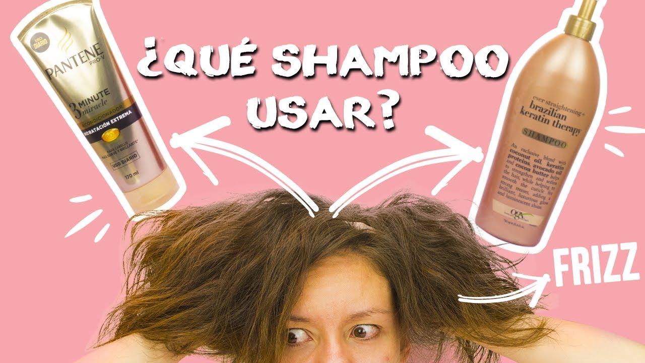 Tratamiento para cabello esponjado y grueso