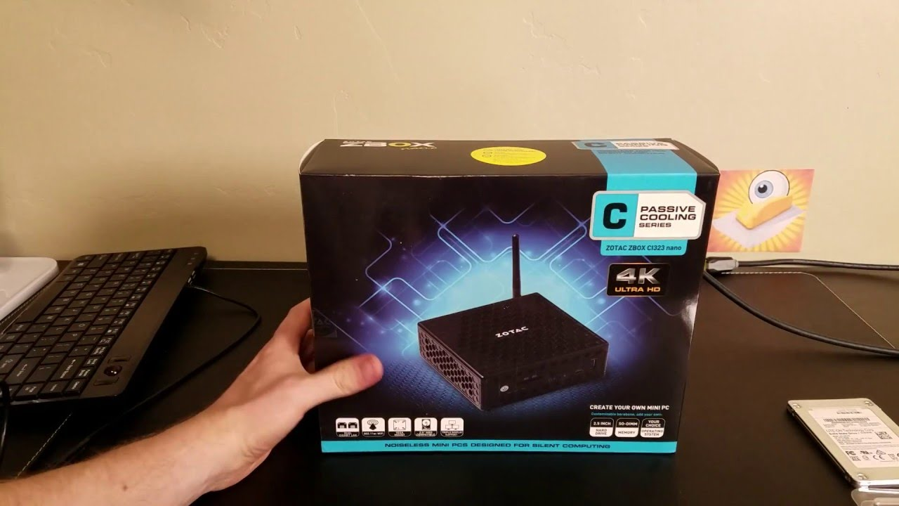Zotac CI323 Unboxing and Overview - PFSense Router